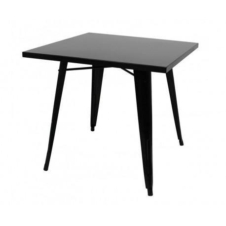 Mesa aço, preta,SD193