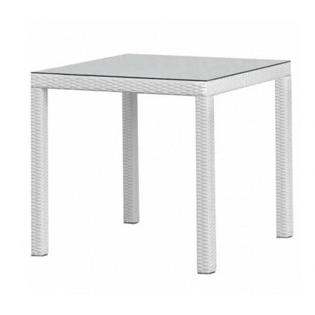 Mesa, aluminio, ratán,SD204