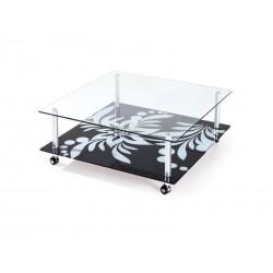 Mesa aluminio, vidro,SD319