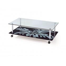 Mesa Centro aluminio, vidro,SD320