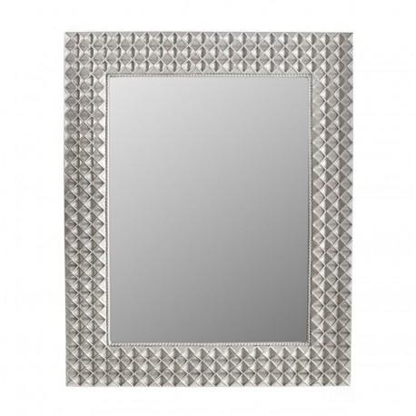 Espelho Rectangular Prata IT111