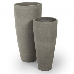Set 2 Vasos Cinza IT145