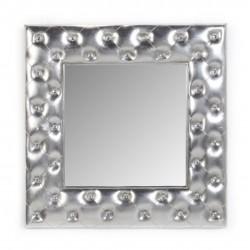 Espelho Quadrado Prata IT151