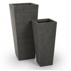 Set 2 Vasos Cinza It 157