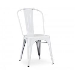 Cadeira aço, branca,SD596
