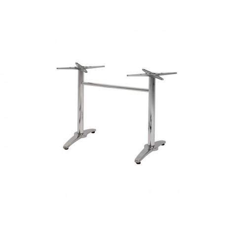 Base retangular, inoxidável e alumínio, SD636
