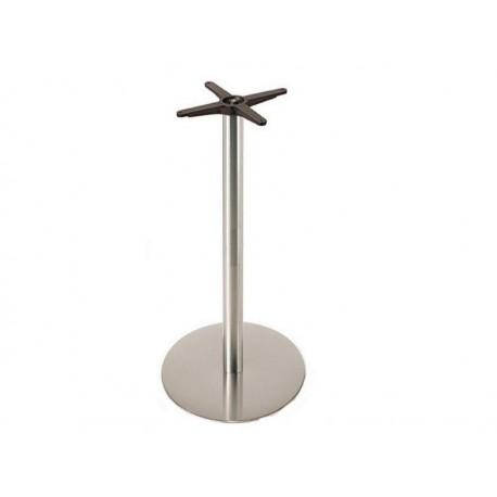Base alta, aço inox polido 45*110 cm,SD762