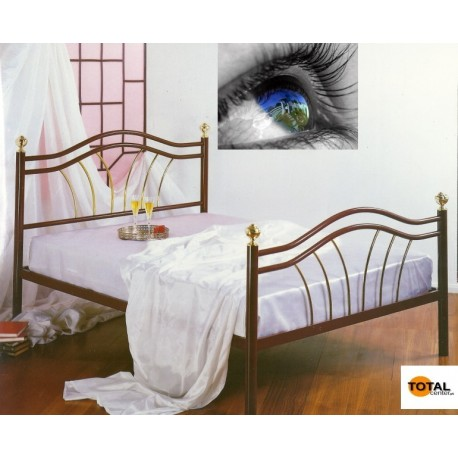 Cama Ferro Pintada, Bruna