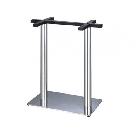 Base alta,inox, 70x40*110 cms,SD839