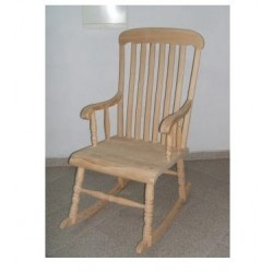 Cadeira Baloiço Madeira JS16