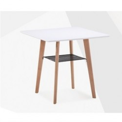 Mesa tampo branco, 80 x 80 cms,SD173
