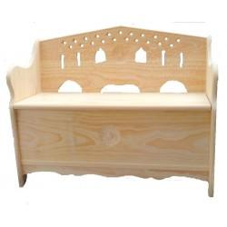 Banco arca jugo madeira várias medidas AP03