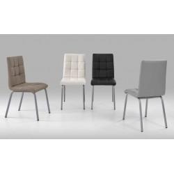 Cadeira pintada , tecido, VT651